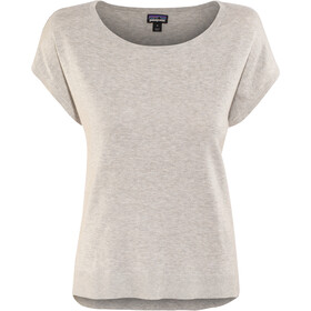 Patagonia Low Tide T-shirt zippé Femme, tailored grey
